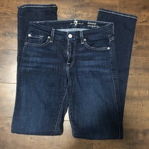 """7 for all mankind """"Kimmie straight leg"""" jeans"""